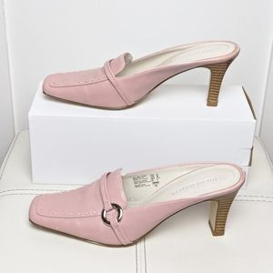 "Shoes - Light pink Mules""Highlights"" with heels shoe"